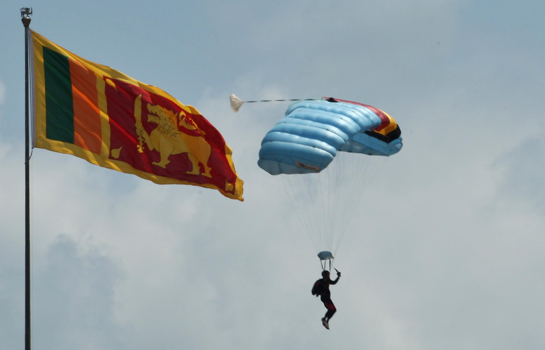 علم سريلانكا