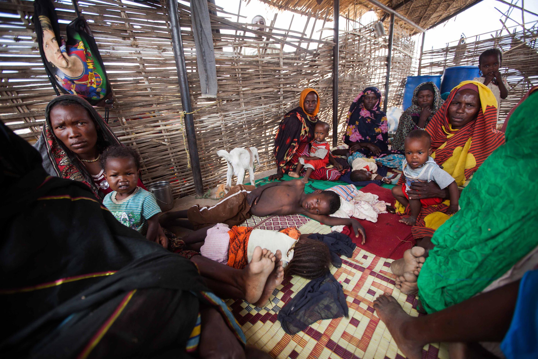 مخيم زمزم في دارفور