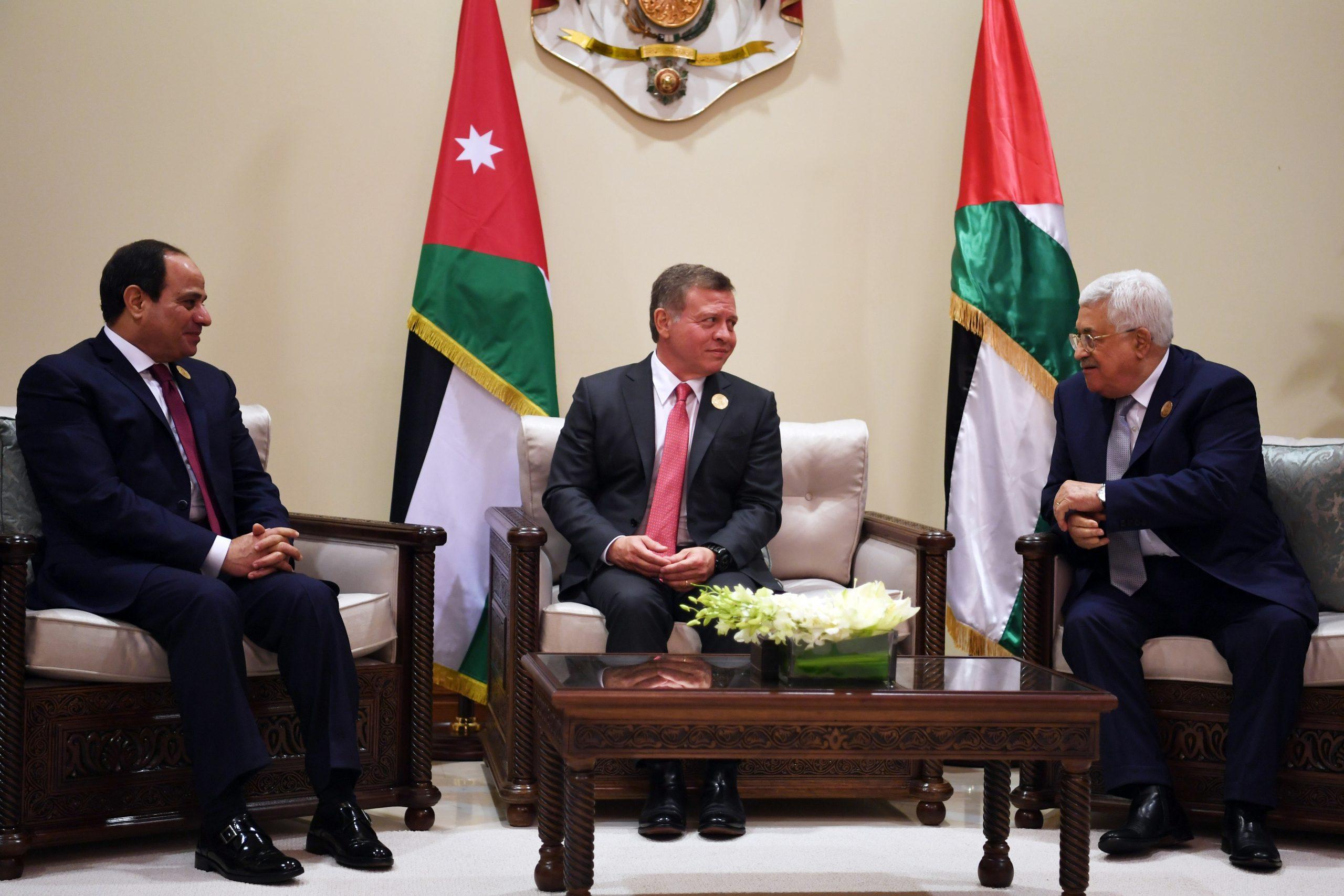 مصر - الأردن - خطة الضم