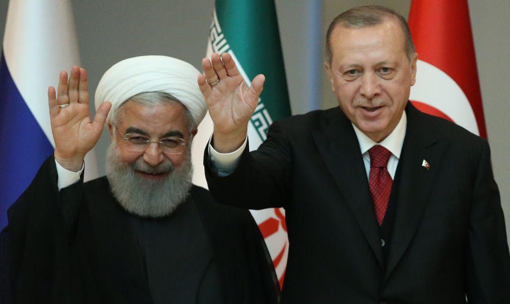 إيران وتركيا تتنافسان على كعكعة آسيا الوسطى