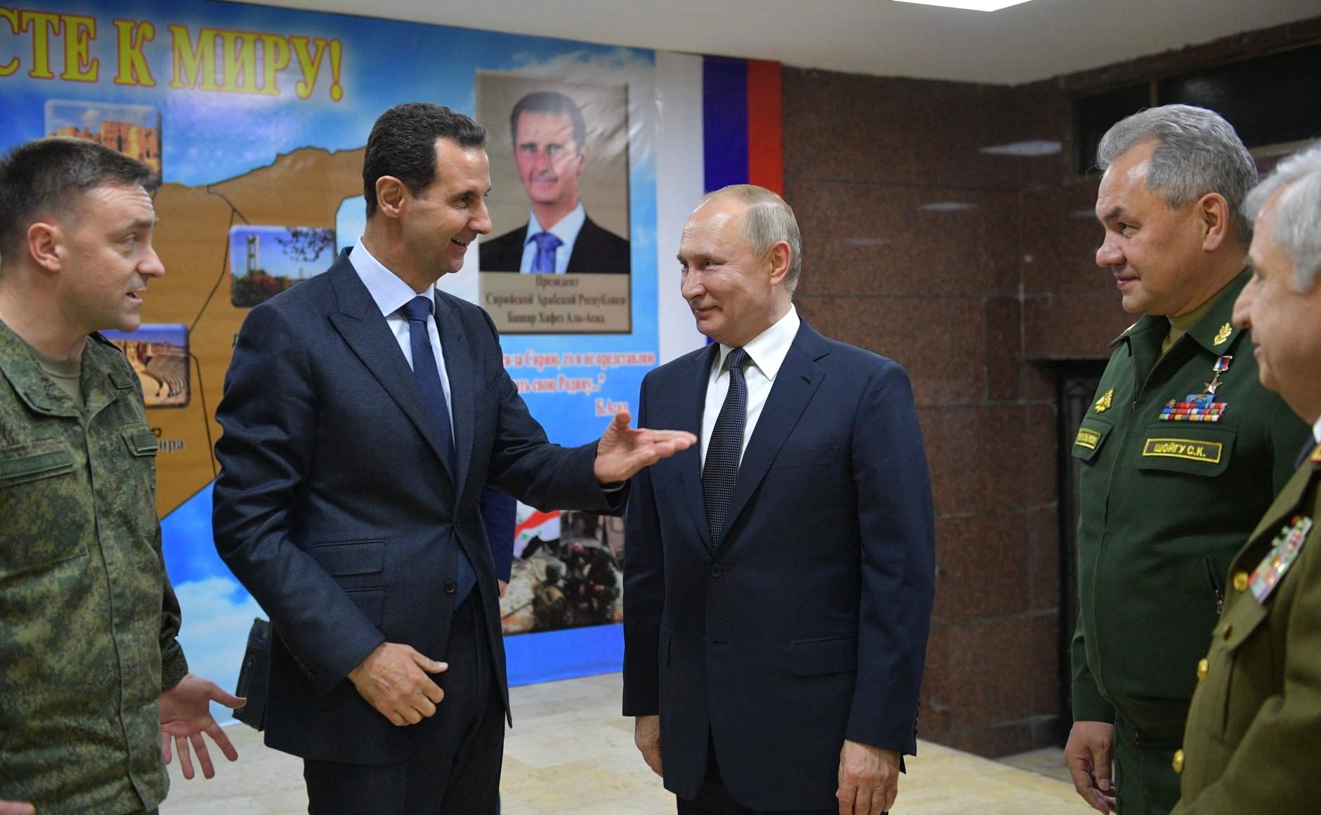 بوتين بشار