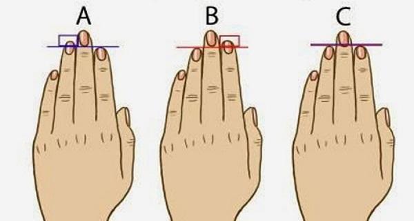 مترجم: اعرف شخصيتك من طول أصابعك!