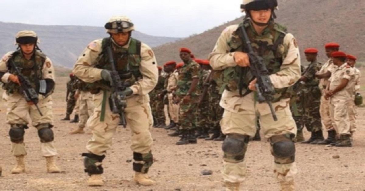 قوات أمريكية في مناورات بإحدى الدول الإفريقية