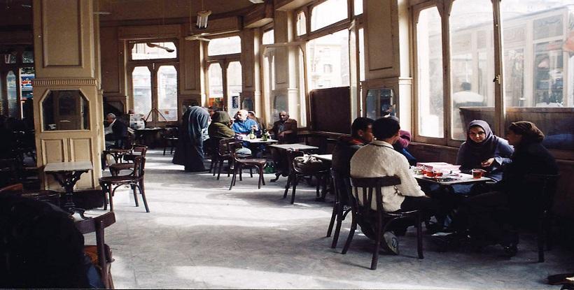 مقاهي القاهرة