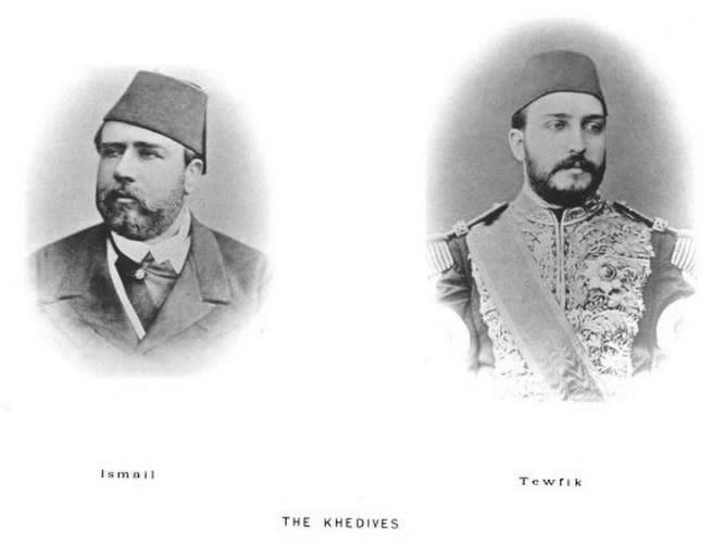 الخديوي إسماعيل الخديوي توفيق