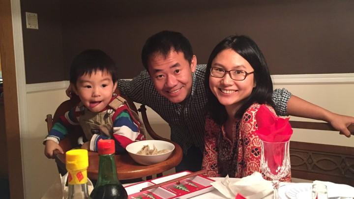 وانج وعائلته