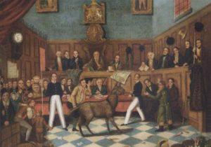 محاكمة الحيوانات في أوروبا لم تكن استثناء