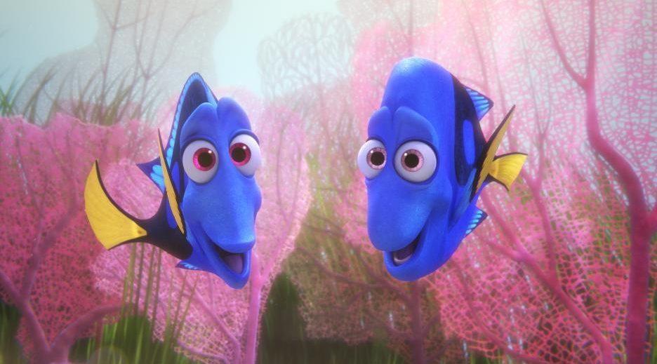 لقطة من فيلم «Finding Dory». المصدر: IMDb
