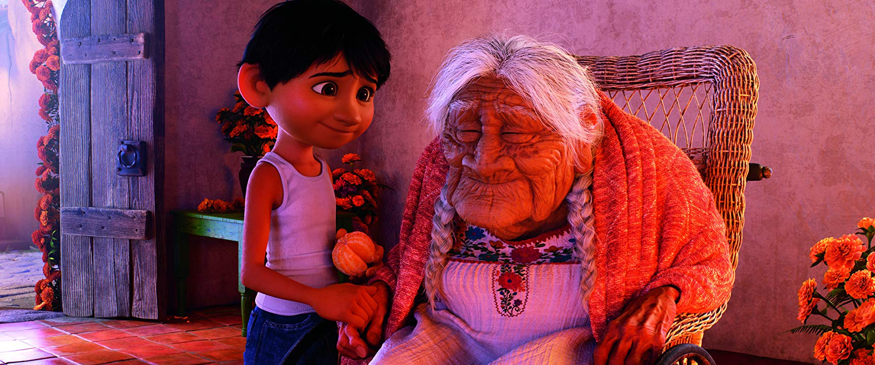 لقطة من فيلم «Coco»، أحد أفلام ديزني الحديثة