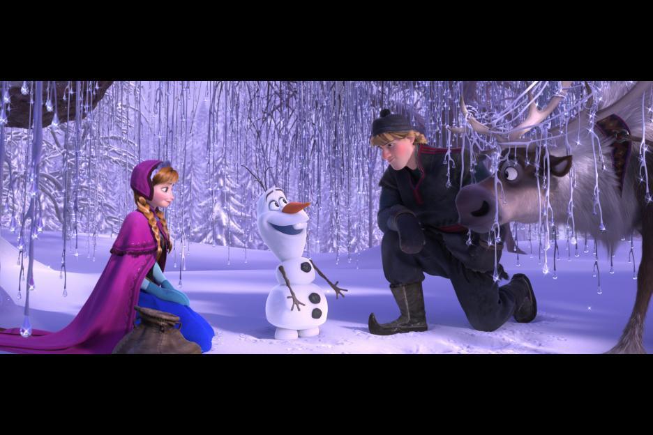 لقطة من فيلم Frozen