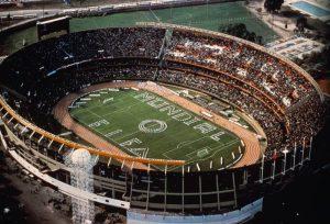 صورة جوية لافتتاح كأس العالم 1978 في ملعب مونومنتال أنتونيو فيسبوكيو ليبرتي