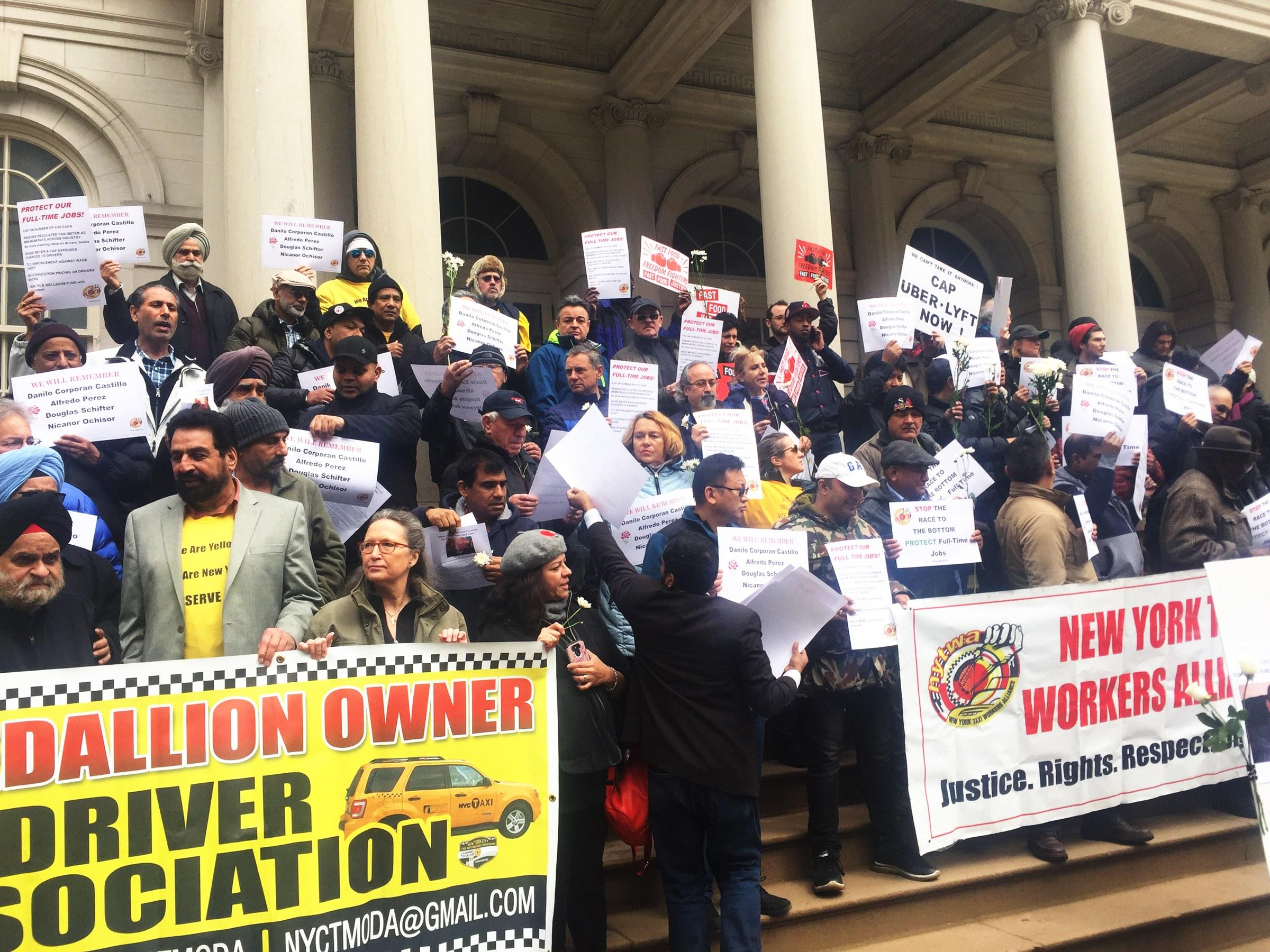 لماذا ينتحر سائقو التاكسي في نيويورك؟   مهاجر