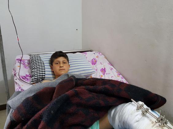 مصطفى خلوف. مصدر الصورة: الإندبندنت