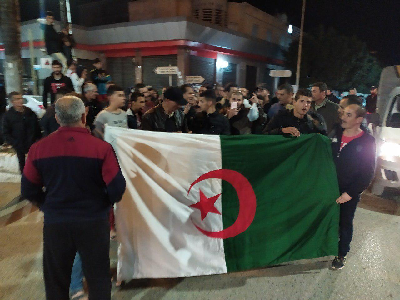 الحراك ضد انتخابات الرئاسة في الجزائر