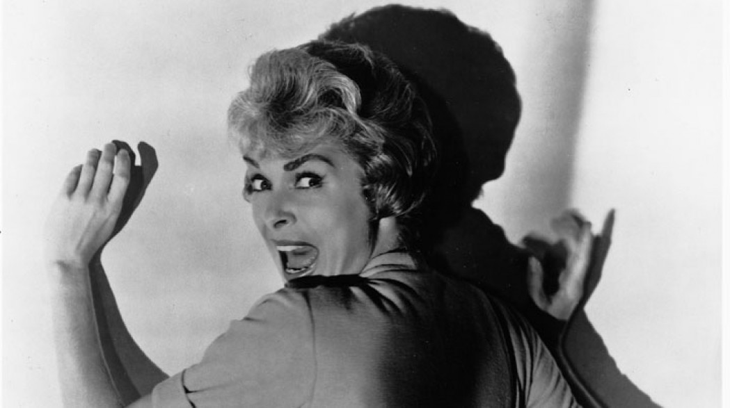 امرأة تصرخ من فييلم Psycho للمخرج ألفريد هيتشكوك