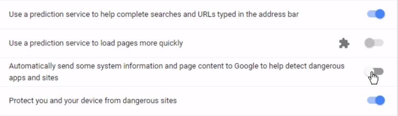 متصفح «جوجل»