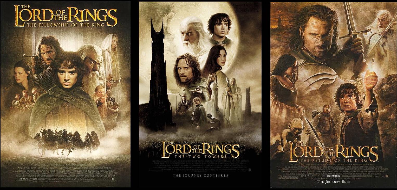 بوسترات ثلاثية Lord Of The Rings
