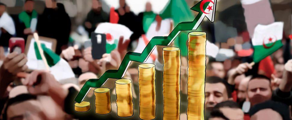 صعود عملة الجزائر